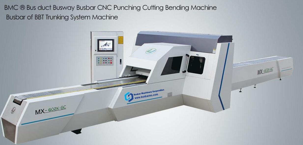 Máy CNC Cắt và Đột Thanh Cái Đồng